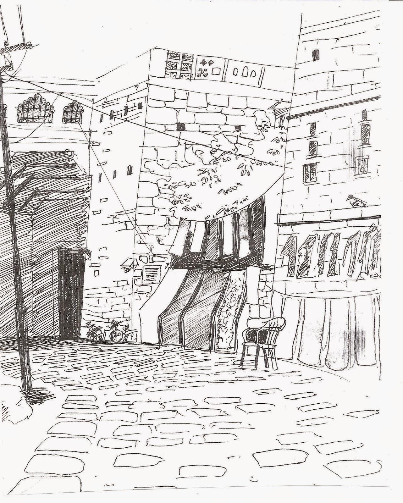 My Portfolio Ink Pen Sketches