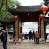 Phong cảnh hữu tình của đền Ông Hoàng Bẩy