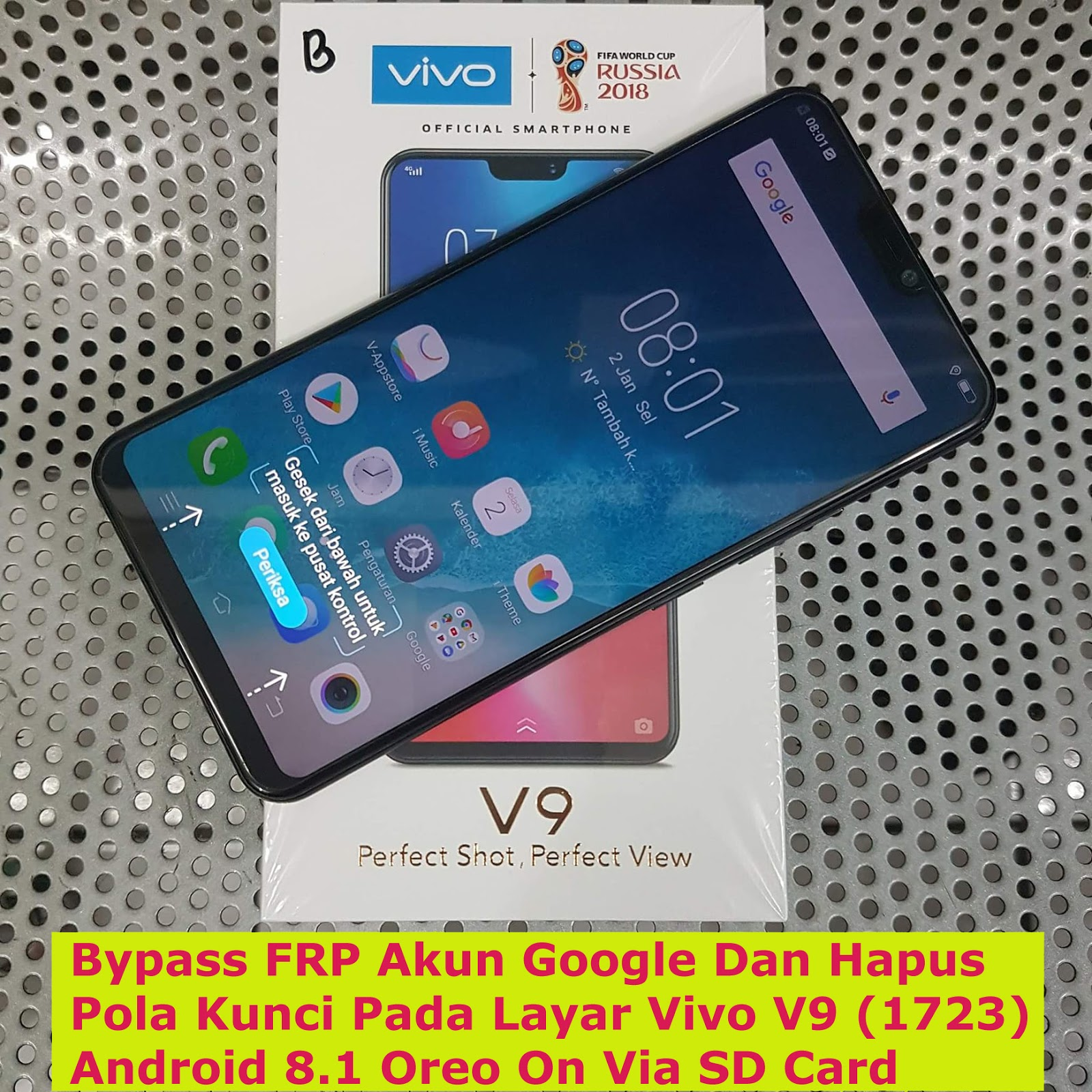 How To Unlock Vivo V9 Phone If Forgot Password ✓ The