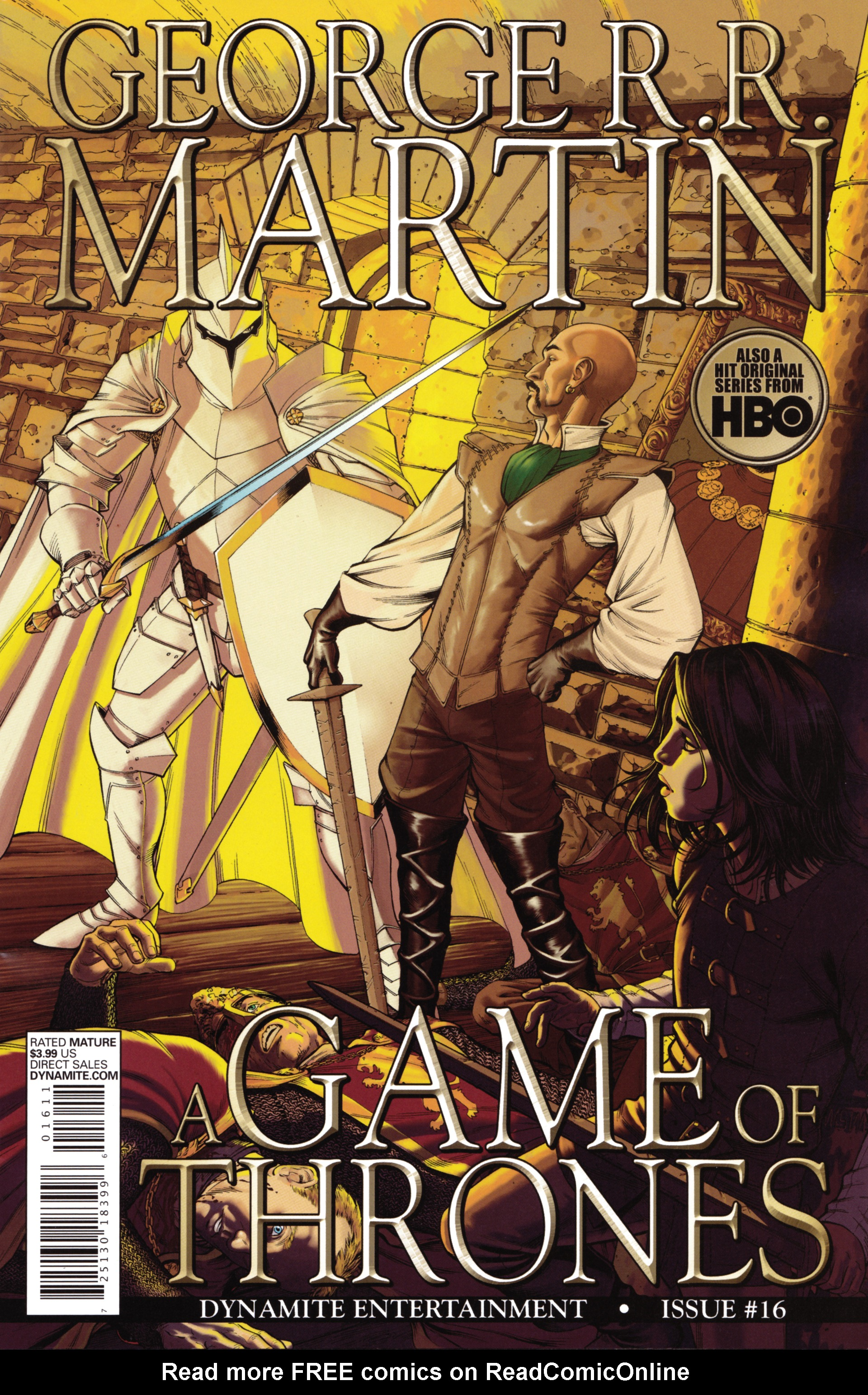 Read online A Game Of Thrones comic -  Issue #16 - 1