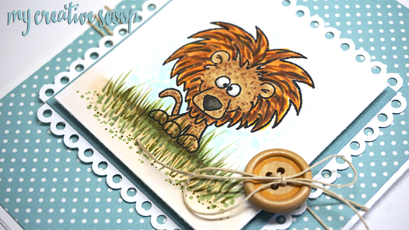Gerda Steiner Designs, LLC: Coloring a Lion -tep by Step Copic ...