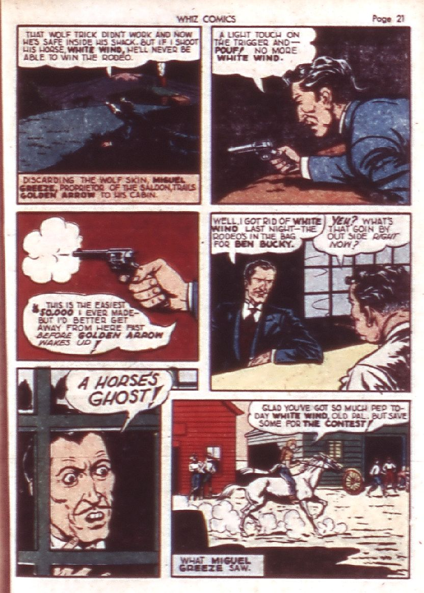 WHIZ Comics issue 23 - Page 23