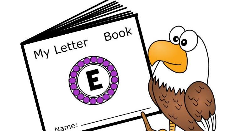 Letter E Free Printable Minibook Alphabet Series