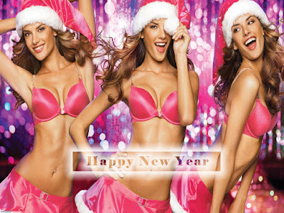 Hot n Sizzling New Year 2017 Babes Wallpapers