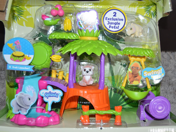 Review - Jungle In My Pocket Treehouse Playset