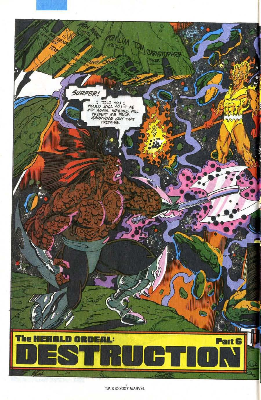 Read online Silver Surfer (1987) comic -  Issue #75 - 6