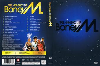 Rock Show Dvd Boney M The Magic Of Boney M