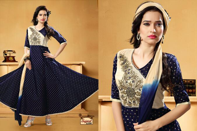 Sajavat – Gorgeous Awesome Ready To Wear Beautiful Suit