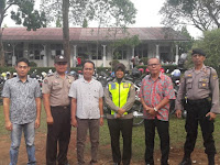 Berikan Rasa Aman, Polres Lampung Utara Gelar Pengamanan Kebaktian Gereja