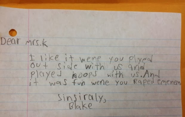 most hilarious kids notes 2