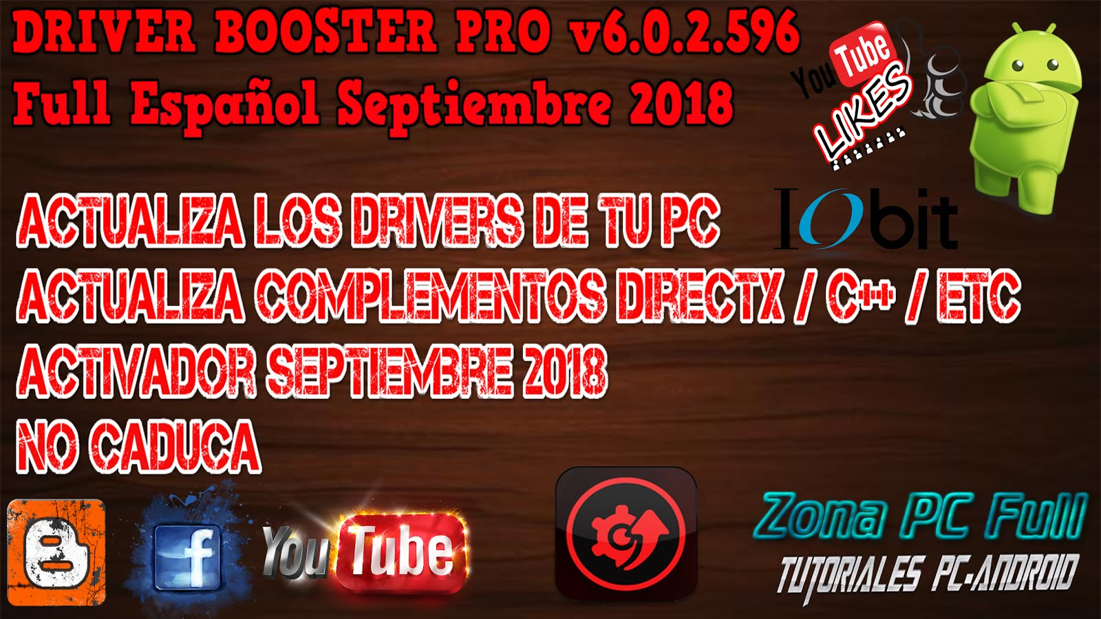 driver booster 2018 full español