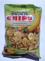 Banana chips 100 gramas
