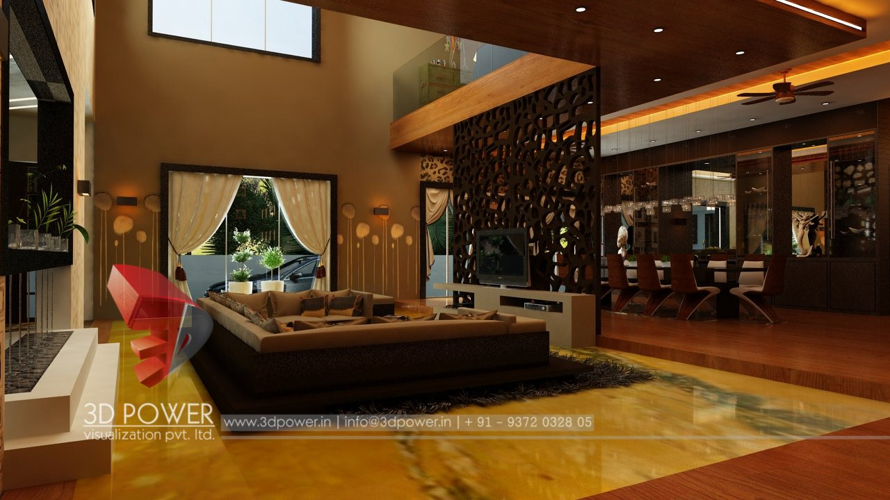 Interior design for home lobby - 3d Interior Design To Know More Please Call 09372032805 08975253200