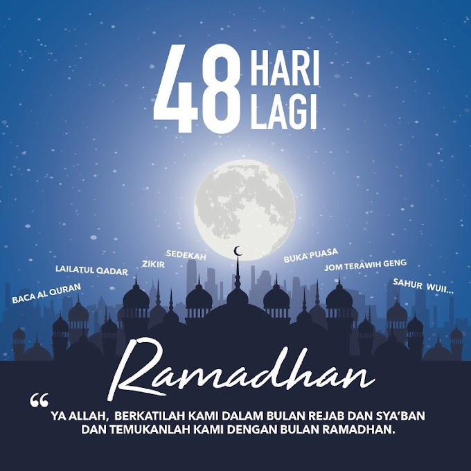 RAMADHAN COUNTDOWN!