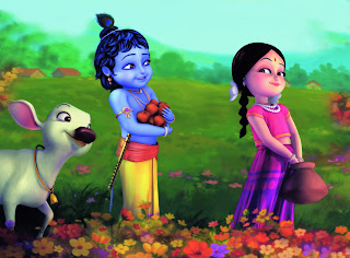 Hd Wallpapers Free Download Bal Radha With Krishna Cartoon Hd