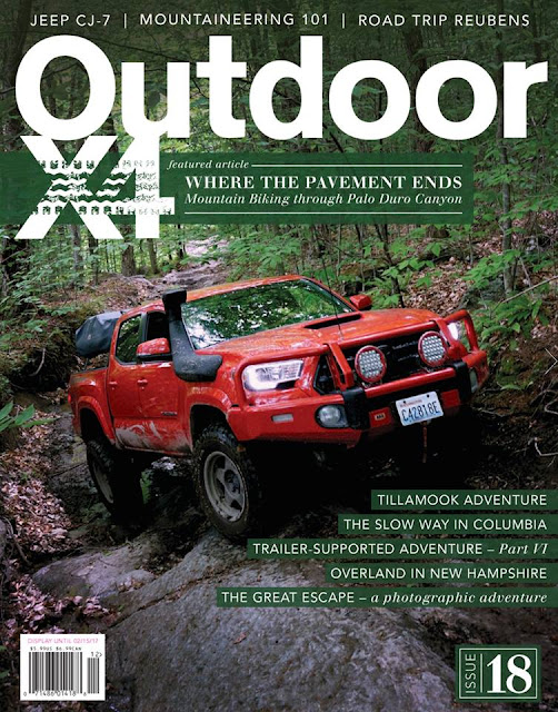 Issue 18 OutdoorX4 magazine