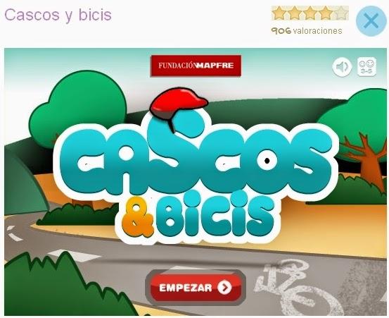 """""""Cascos & bicis"""" (Juego de Educación Vial de Infantil)"""