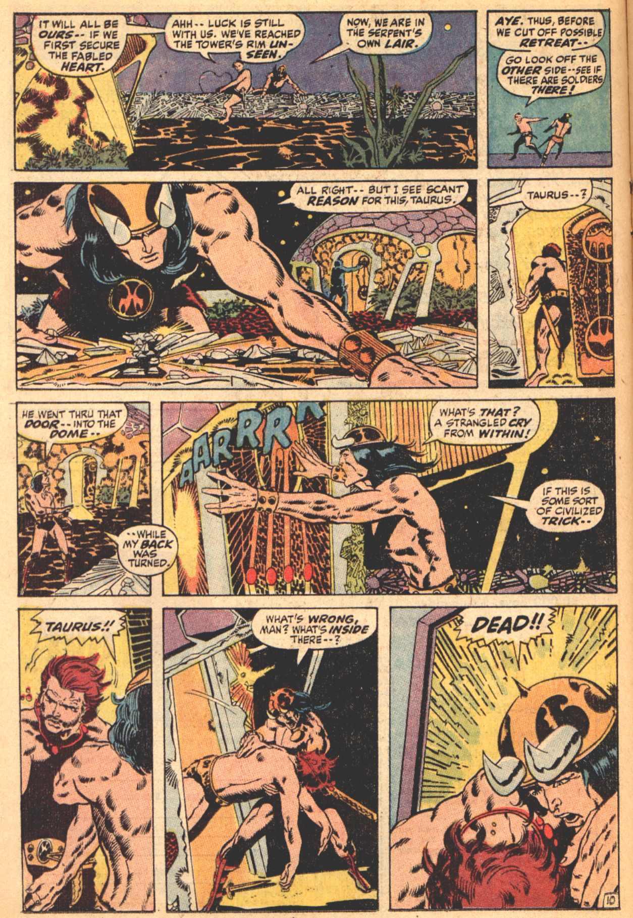 Conan the Barbarian (1970) Issue #4 #16 - English 11