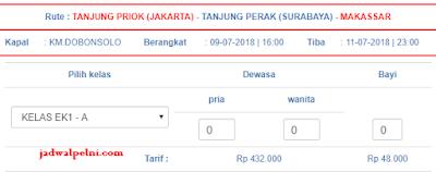 Jadwal Kapal Pelni Jakarta Makassar Agustus 2018 [UPDATE]