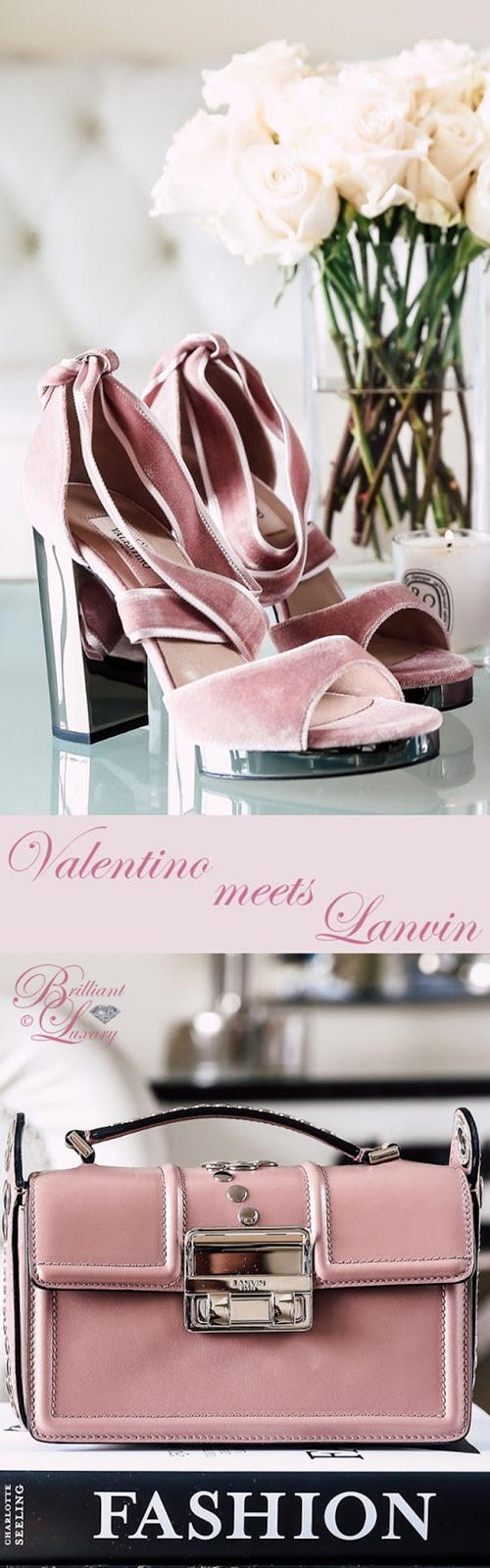 Brilliant Luxury ♦ Valentino meets Lanvin