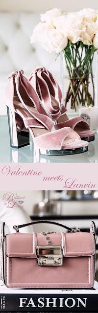 Brilliant Luxury ♦ Valentino meets Lanvin