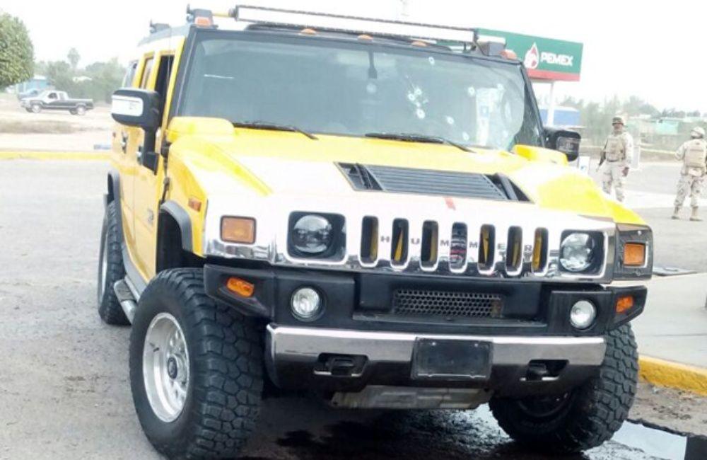 "Ejecutan a ""Chava Piedra"" a bordo de su lujosa Hummer en Comondú, BCS"