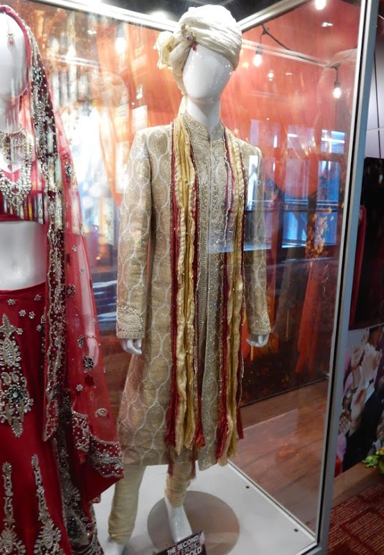 Second Best Exotic Marigold Hotel wedding sherwani jacket