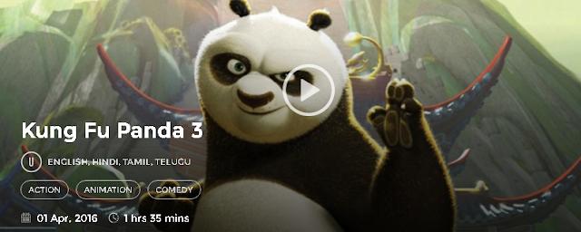 Kung Fu Panda 3 (2016) Hindi Dubbed Movie 700mb 300MB Download