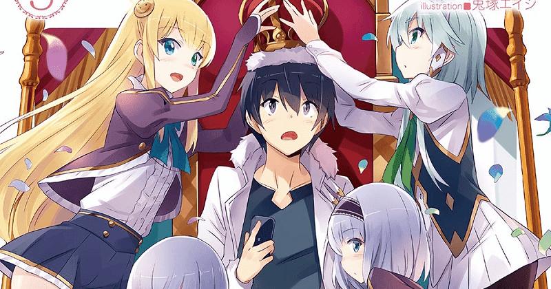 sinopsis anime isekai wa smartphone to tomo ni