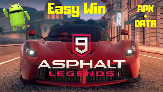 Asphalt 9 Legends Mod سهل وين APK تحميل بيانات