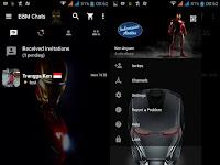 BBM MOD Tema Iron Man Based v2.12.0.11