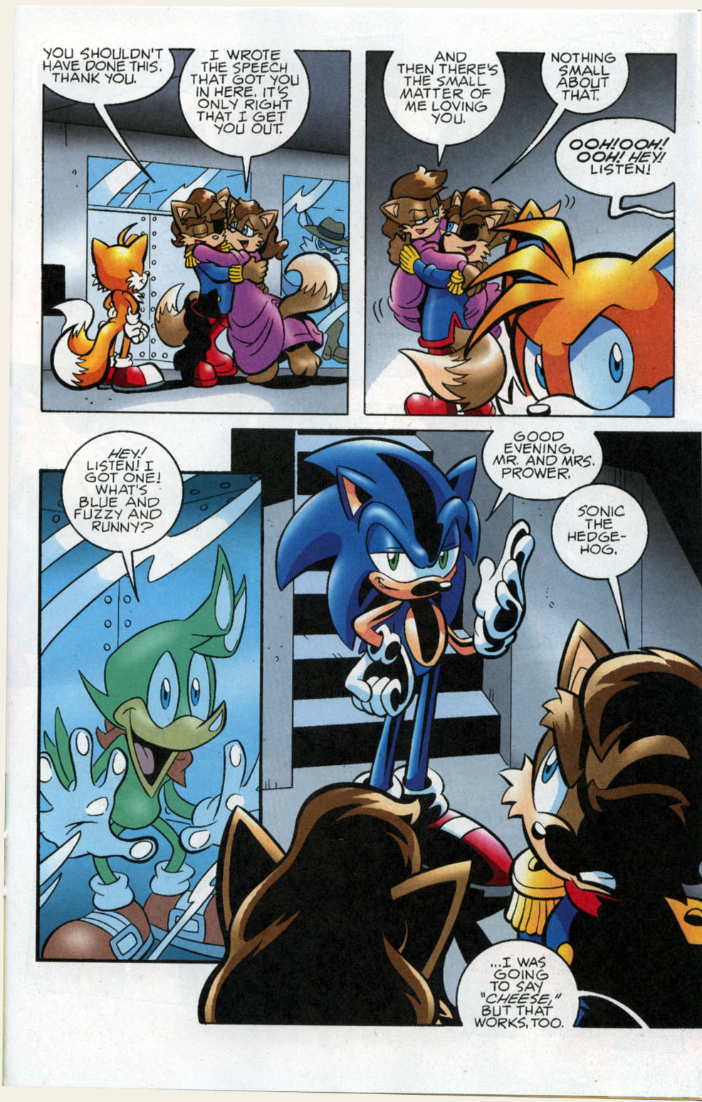 Read online Sonic The Hedgehog comic -  Issue #178 - 14