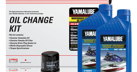 Yamaha WaveRunner Oil Change Kit in a Box