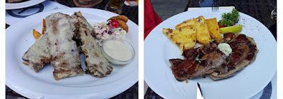 Un fin de semana en Győr: platos de comida