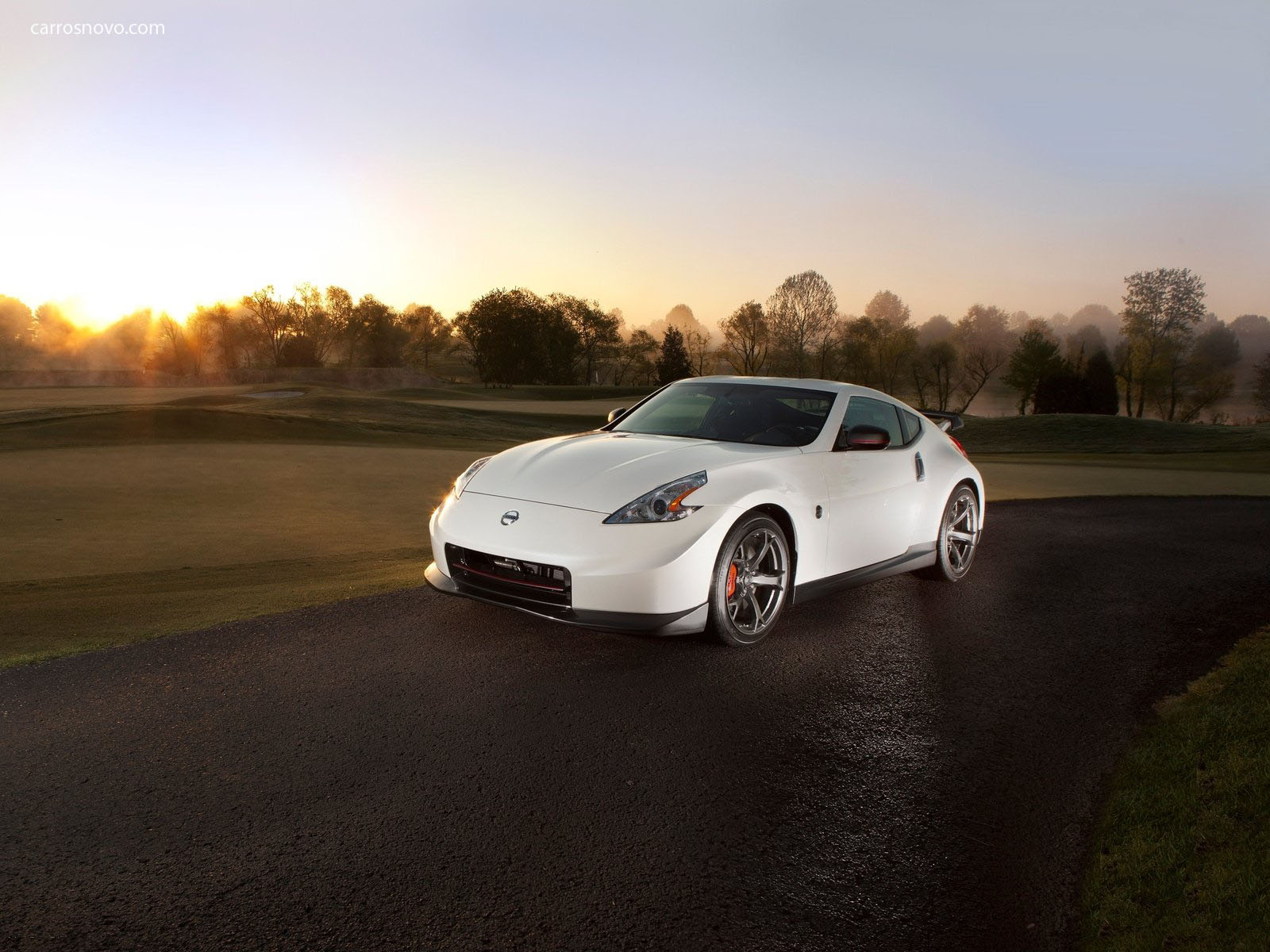 car in Nissan 370Z Nismo 2014