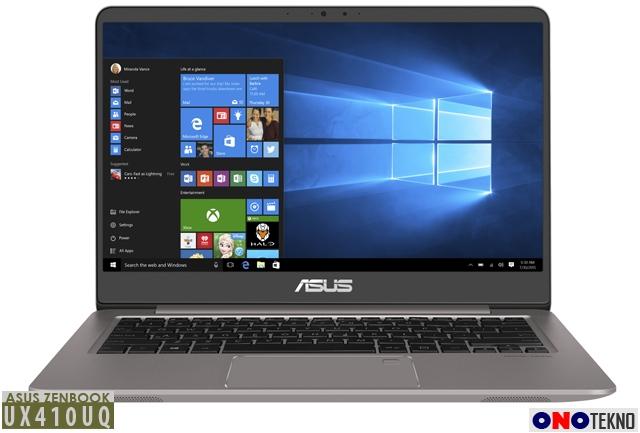 """ASUS ZenBook UX410UQ """" Ultrabook dengan Prosesor dan Grafis Kinerja Tinggi """""""