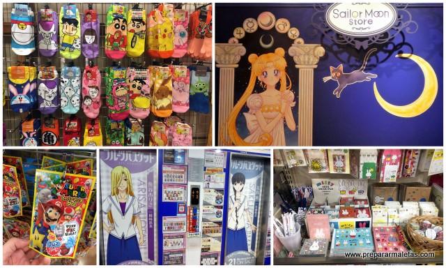 manga, regalos en tokio