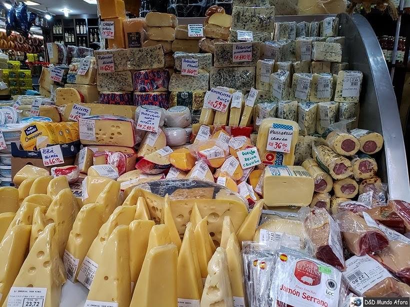 Queijos no Mercado Municipal de de São Paulo: o que fazer