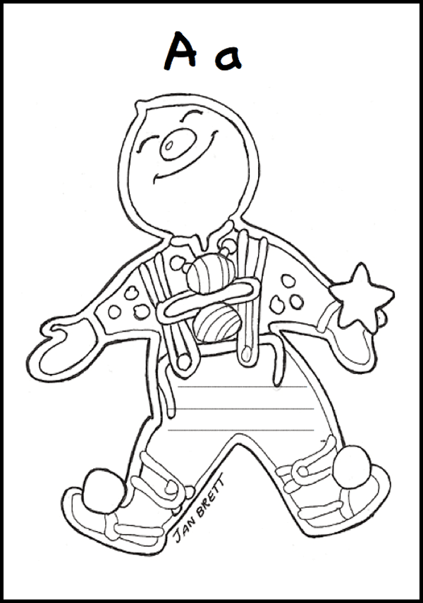 More Gingerbread and Xmas Freebies: Free book printable for first grade: What Can the Gingerbread Baby Do? Plus a letter to Santa template. #gradeonederful #gingerbread #gingerbreadprintable