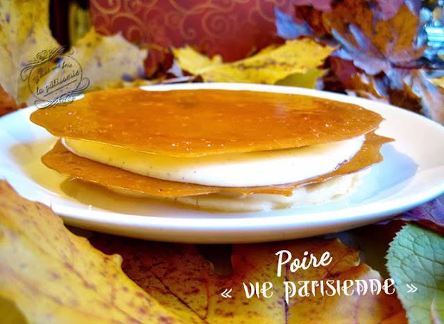 la poire vie parisienne du magazine fou de pâtisserie