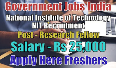 NIT Recruitment 2018 Kurukshetra