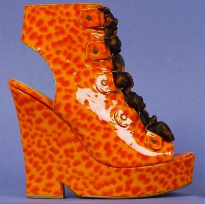 9ffd22110d31 Label Whores  Nicki Minaj in Opening Ceremony Margot Wedge Sandal
