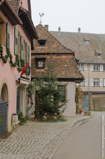 Mittelbergheim Alsacia Francia
