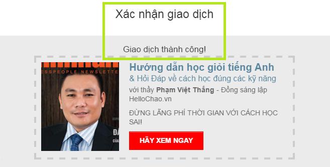 Hướng dẫn đăng kí học tiếng Anh giao tiếp với HelloChao