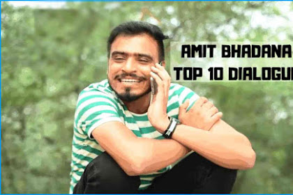 Top 10 Amit Bhadana Best Dialogues