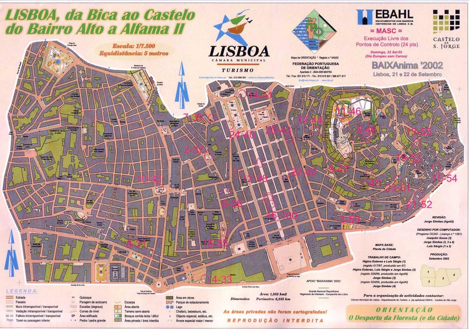 mapa ruas lisboa Mais um mapa, mais um desterro!: BaixAnima   Lisboa mapa ruas lisboa