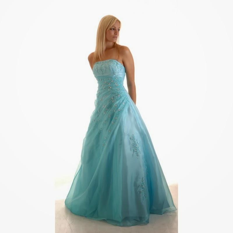 Dayeong Restofus: Light Blue Wedding Dress