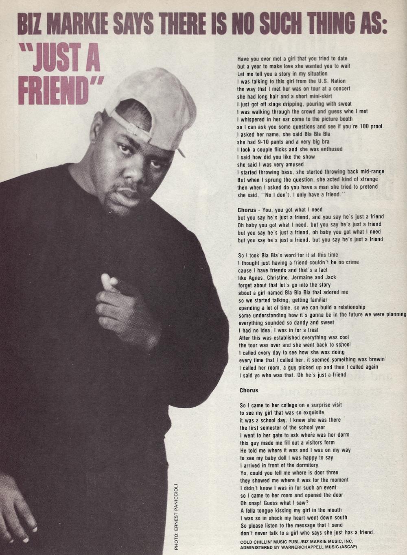 Lyrics Oh Baby You Got What I Need : lyrics, Hip-Hop, Nostalgia:, Markie,