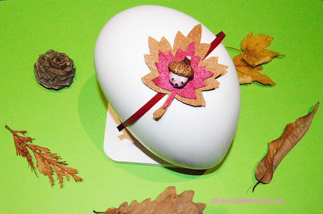 diademas otoño manualidades diy