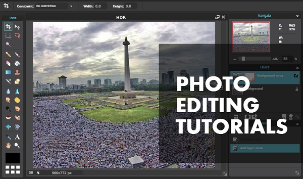 Tutorial Edit Foto Online